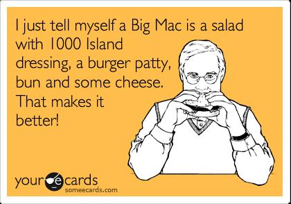 The Big Mac Salad!