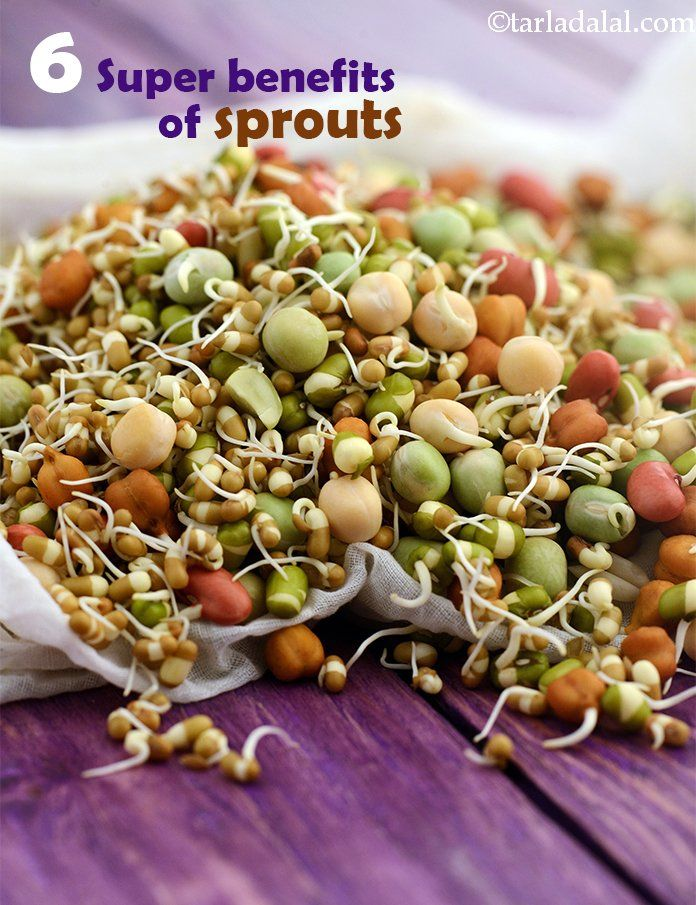 Benefits of Sprouts Sprout recipes, Recipes, Sprouts