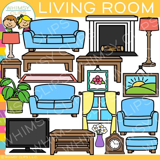Living Room Furniture Clip Art Clip Art Furniture Living Room Furniture