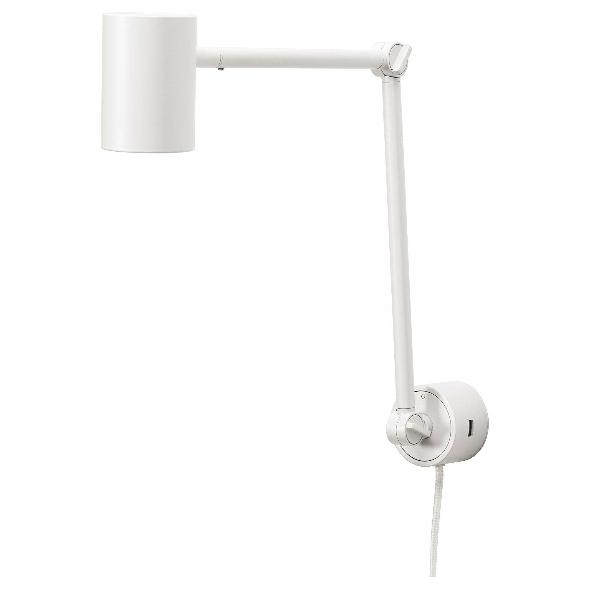 Nymane Work Wall Lamp White Ikea Wall Lamp Ikea Wall Lamp Lamp