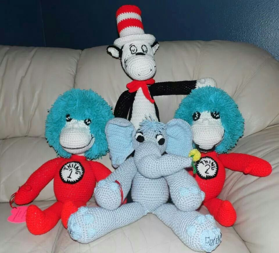 Dr.Seuss | Crochet☆Animals & Cute Stuff | Pinterest