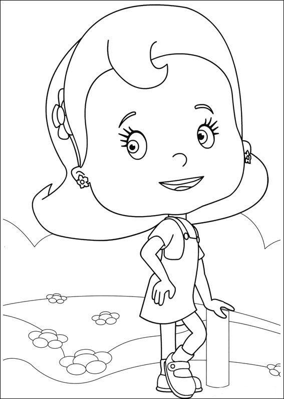 Loopdidoo Fargelegging for barn. Tegninger for utskrift og fargelegging nº 21