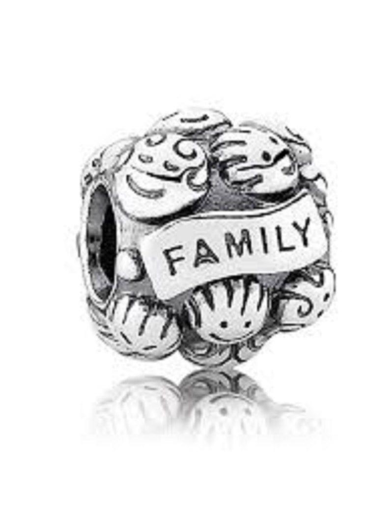 charms pandora family