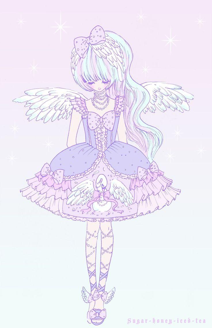 Kawaii Pastels Pastel Pastel かわいいイラスト パステル 女の子