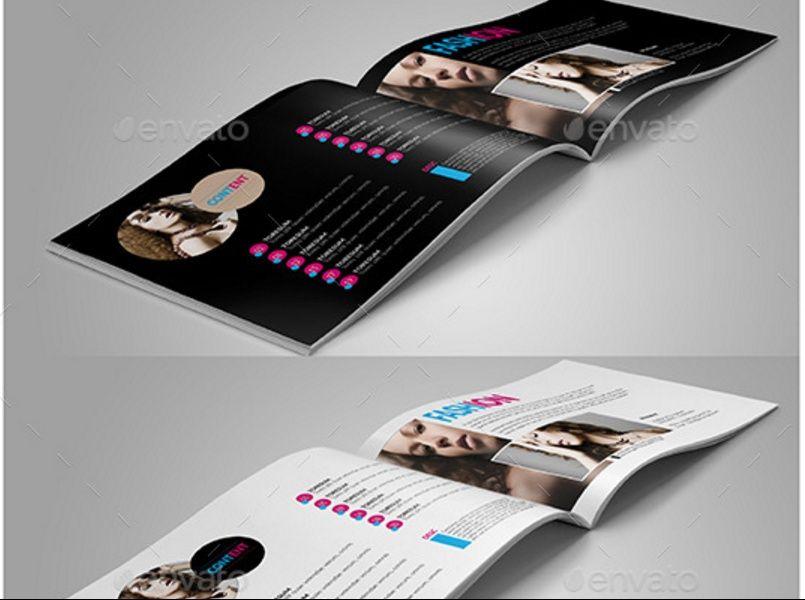Fashion Portfolio Brochure Template 25 Fashion Brochure Template