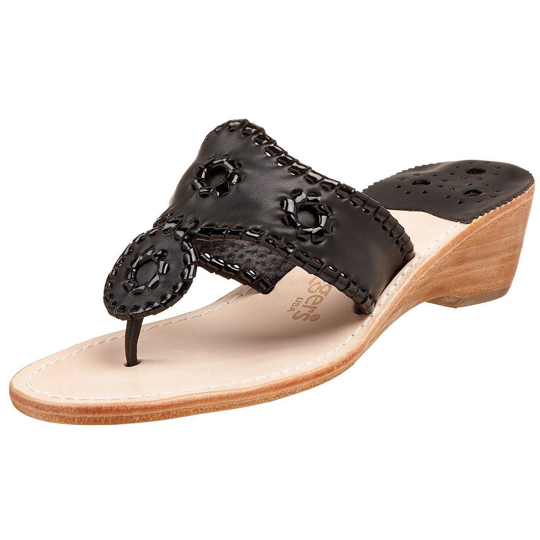 Jack Rogers Women's Hamptons Midwedge Sandal *** Visit the image link more details.