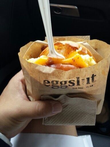 Eggslut La Grand Central Market May I Dare Say You Have Not Lived Until This California Food Food Street Food