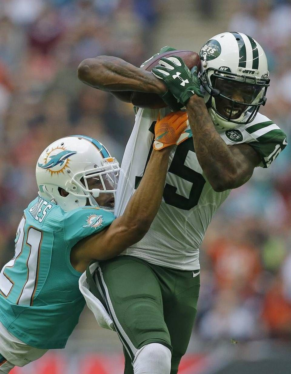 quality design 0cf96 6c97c London loss: Miami Dolphins downed by New York Jets 27-14 ...