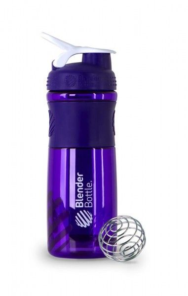 "The awesome ""Blender Bottle"" -(makes-""on-the-go"" smoothies, protein drinks, and much more)- I love my bottle. Available in different sizes and colors!"