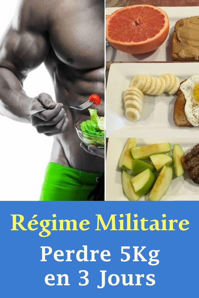 Régime Militaire: Perdre 5Kg en 3 Jours! in 2020 | Health