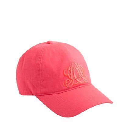 J Crew Embroidered Emblem Baseball Cap Perfect For My
