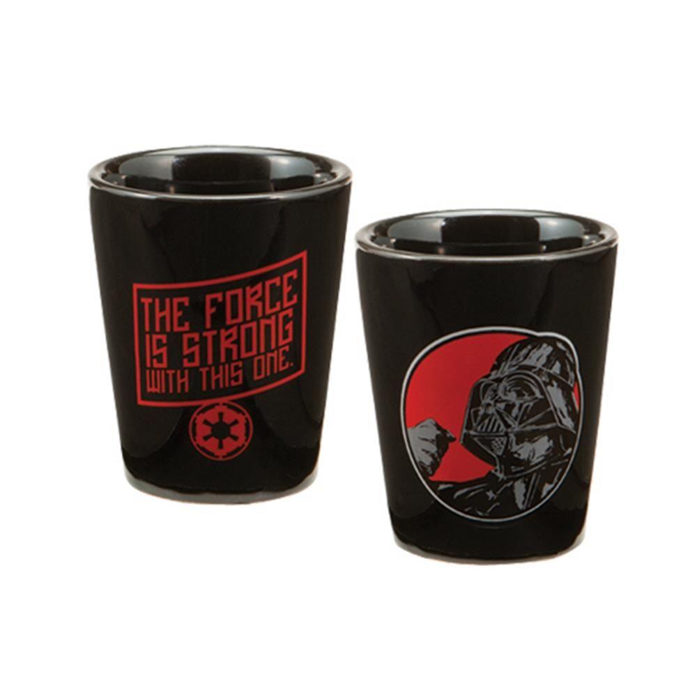 Ceramic Vader Shot Glass