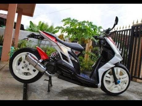 Modifikasi Motor Honda Beat Model Low Rider S Honda Motor