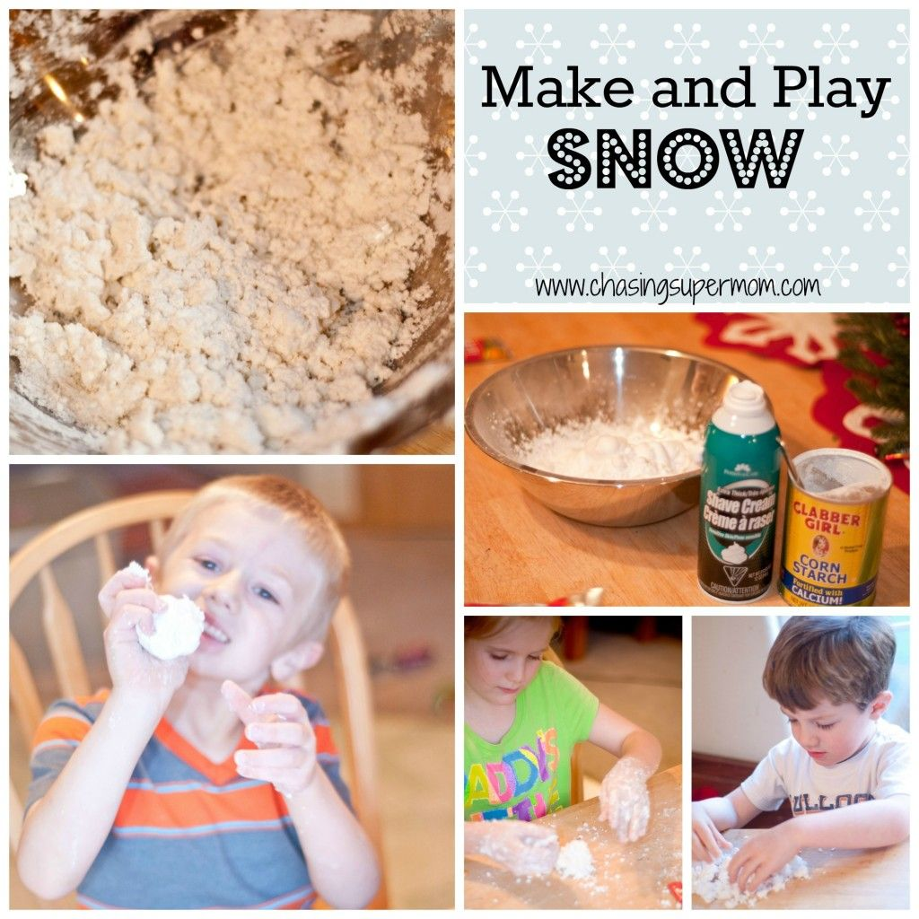 Make And Play Snow Fun Winter Preschool Project With
