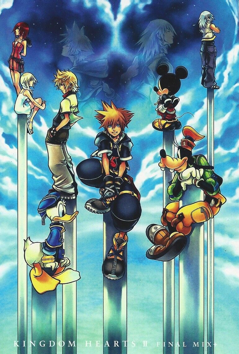 Kingdom Hearts II ❤ | Video Games | Kingdom hearts games