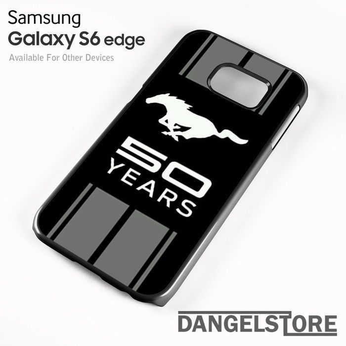 Ford Mustang 50 Years For Samsung S6 Edge Case