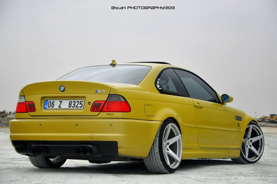 Bmw E46 M3 Phoenix Yellow Bmw Ultimate Driving Machine