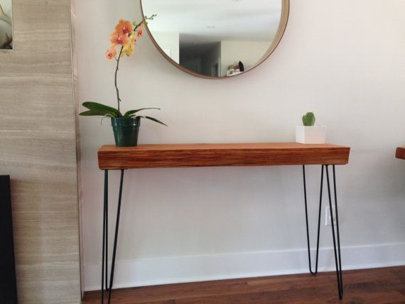 Console table cedar sofa table solid wood desk plant for Sofa table for plants