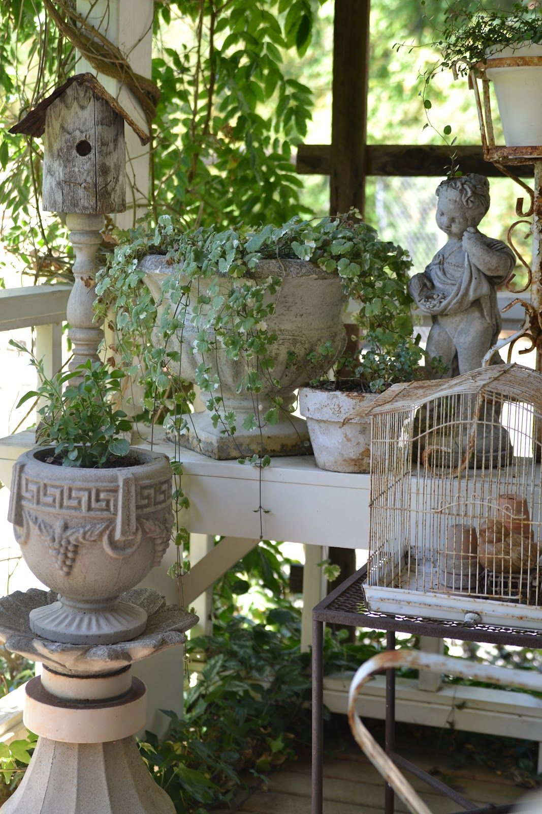Faded Charm: ~Fall is in the Air~ | Cottage gardens | Pinterest ...