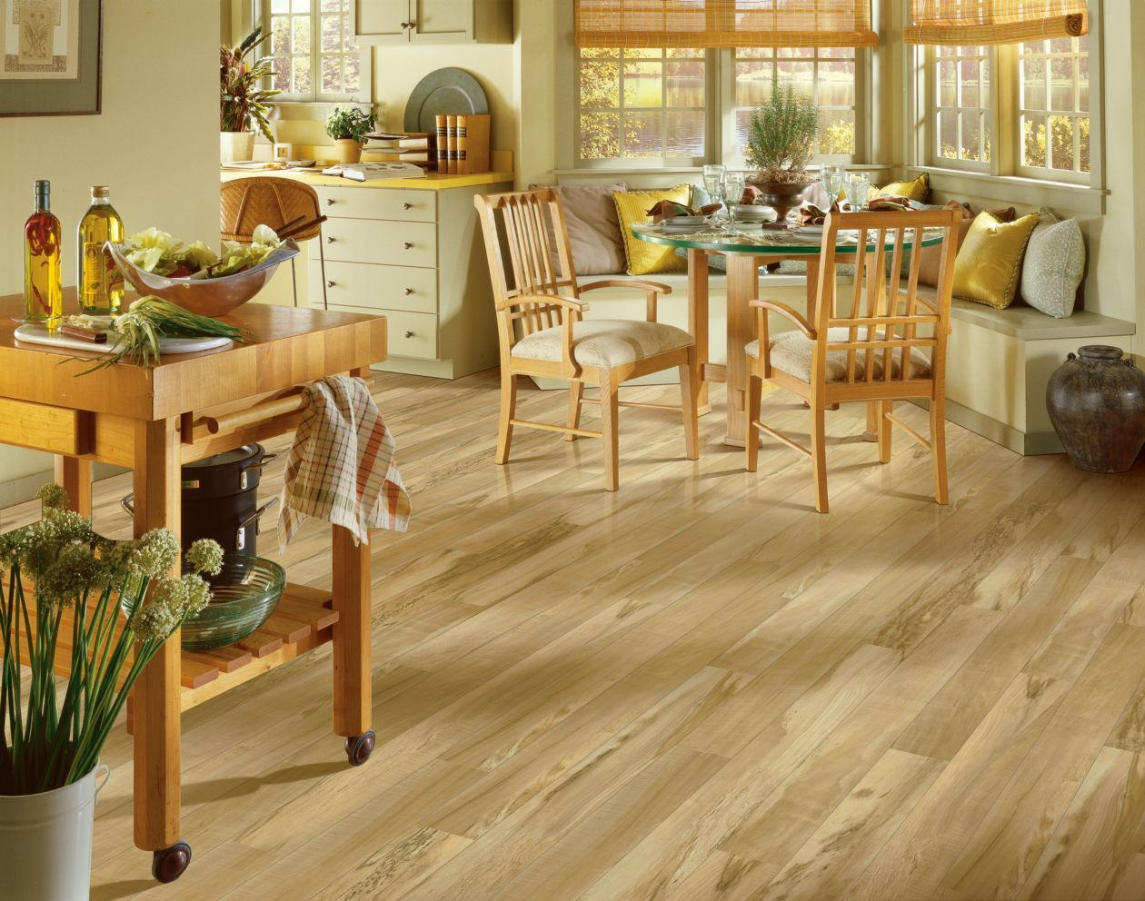 Flaxen maple 8mm laminate flooring by armstrong in 2018 - Can you use laminate flooring in a bathroom ...