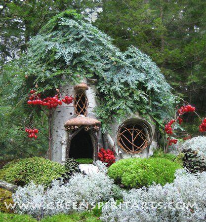 maison de f e par sally j smith maison f e maisons de f es jardins miniatures jardins. Black Bedroom Furniture Sets. Home Design Ideas