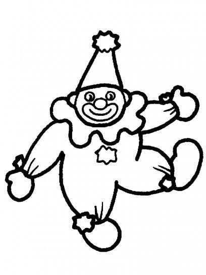 Clown disegni da colorare Carnevale  a9aac18d2f00