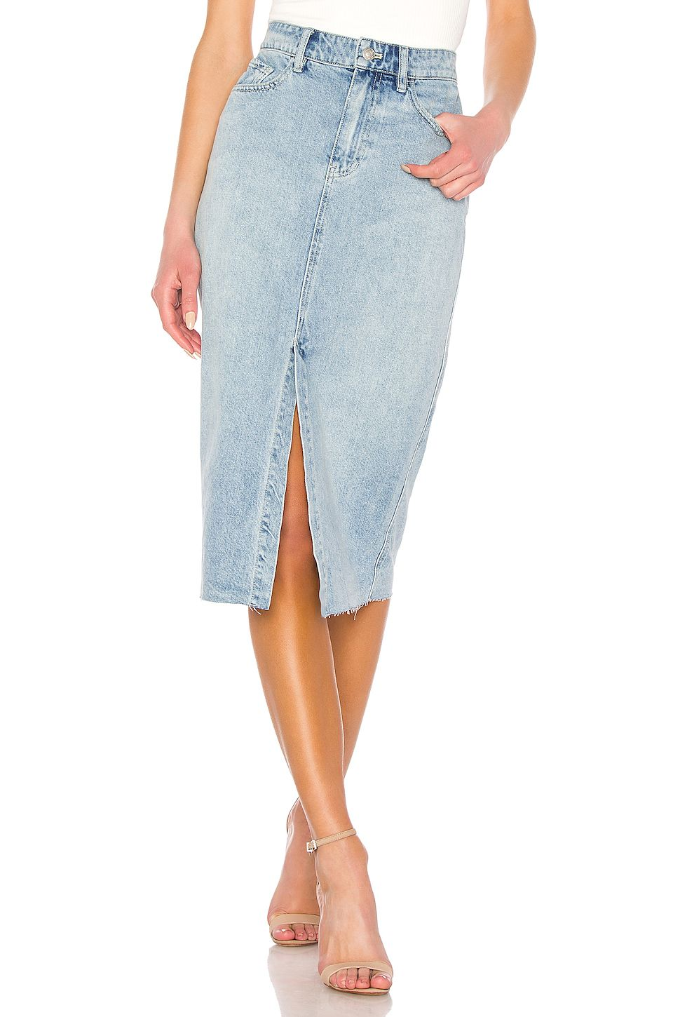 run shoes latest discount check out REVOLVE | Style ideas in 2019 | Denim skirt, Light denim, Skirts