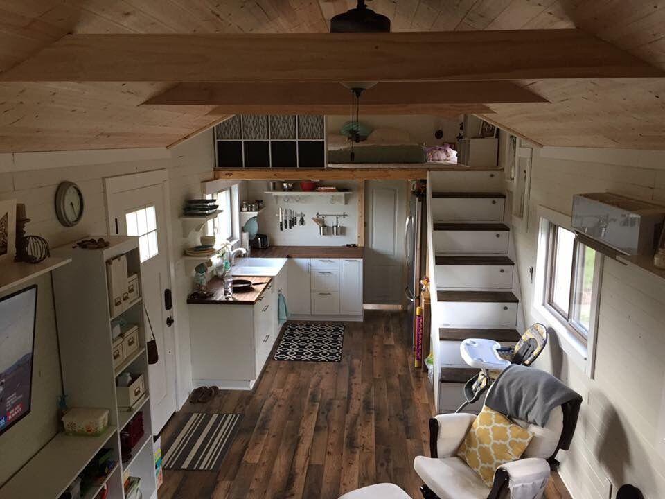 39 Gooseneck Tiny House w loft Tiny House Pinterest