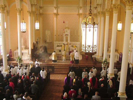 Old St Patrick Oratory Kansas City Mo Traditional Catholicism Christ The King Faith Hope Love