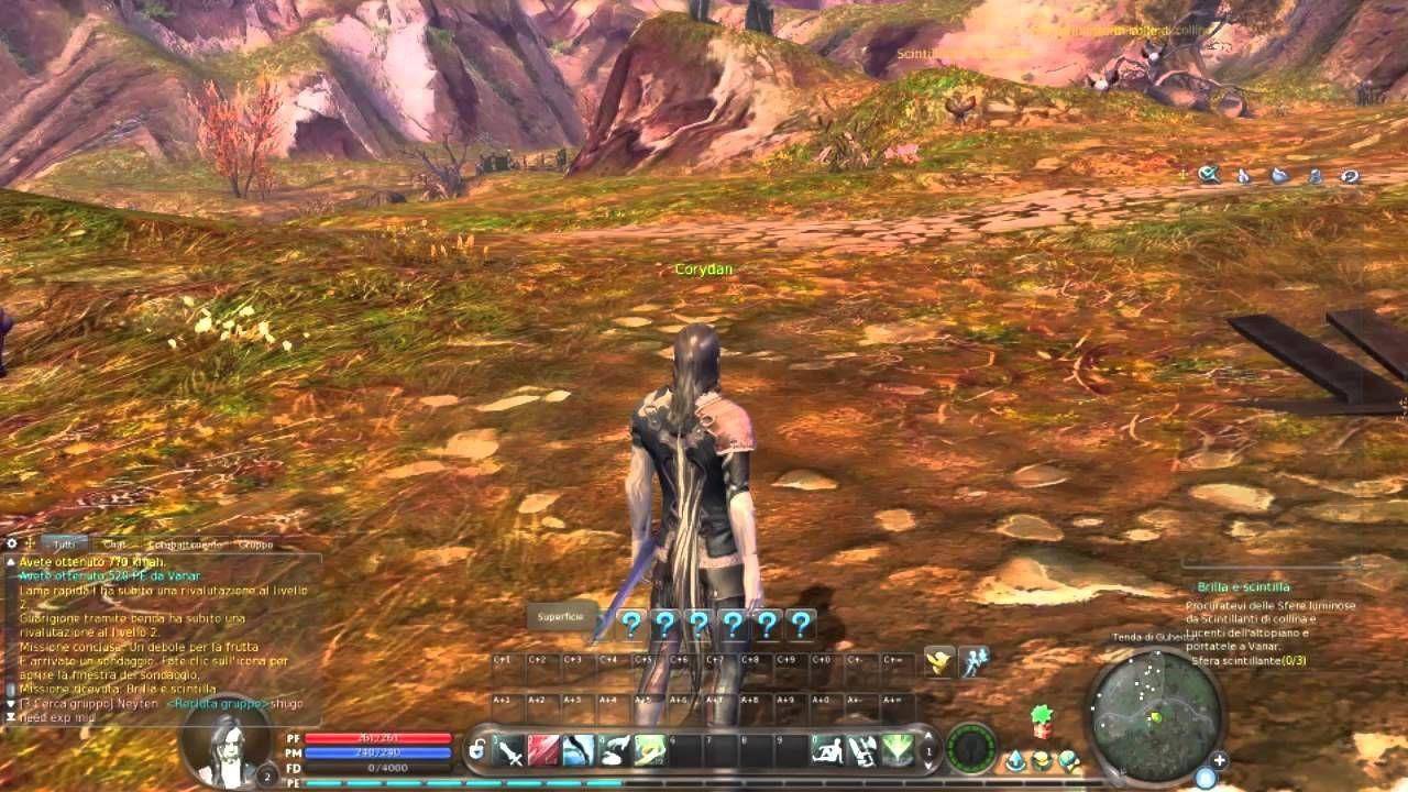 Gameplay \ Minirecensione di AION, un MMORPG interamente