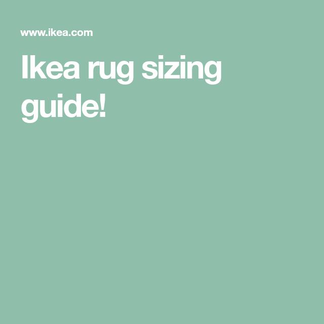 Ikea Rug Sizing Guide! #IkeaRugs