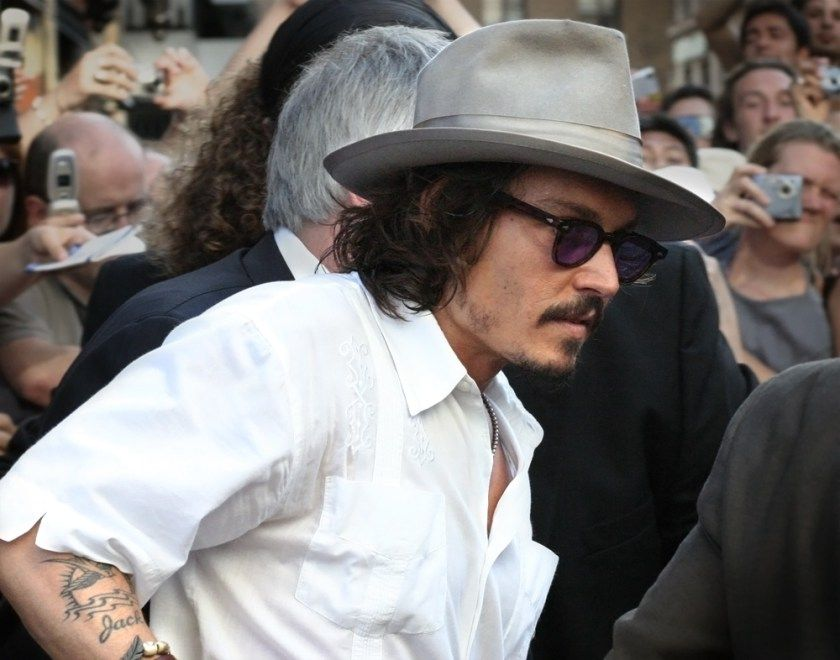 Johnny Depp Makes Shocking Change To Tattoos Inspired By Amber Heard Inked Magazine Johnny Depp Johnny Johnny Depp And Amber