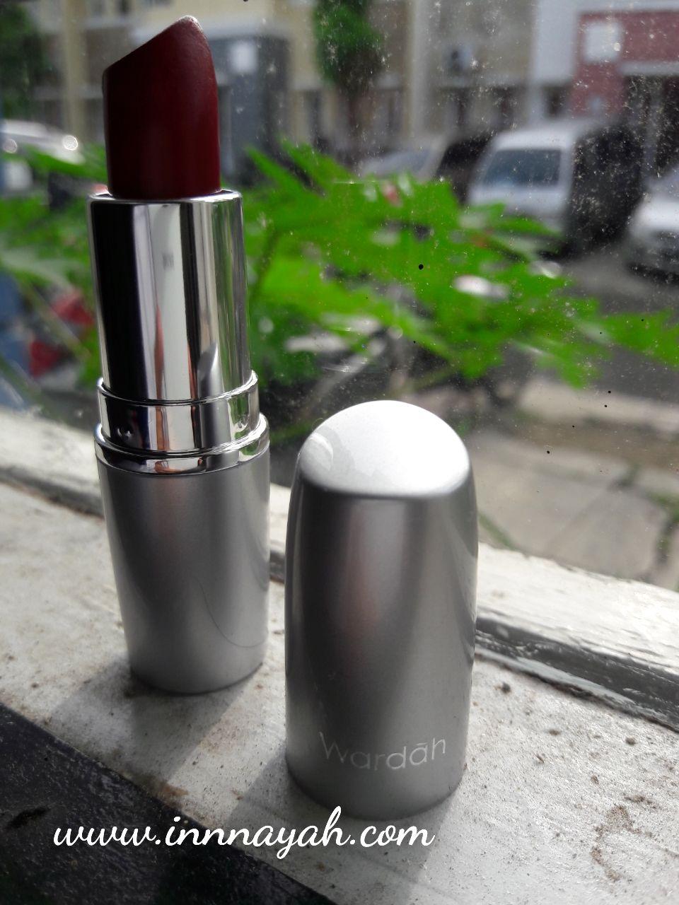 Review Wardah Matte Lipstick No 10 Maroon Blogpost Pinterest Make Up Kit Special Edition Packaging