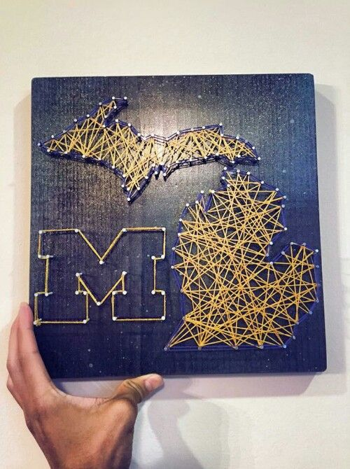 U of M wall art