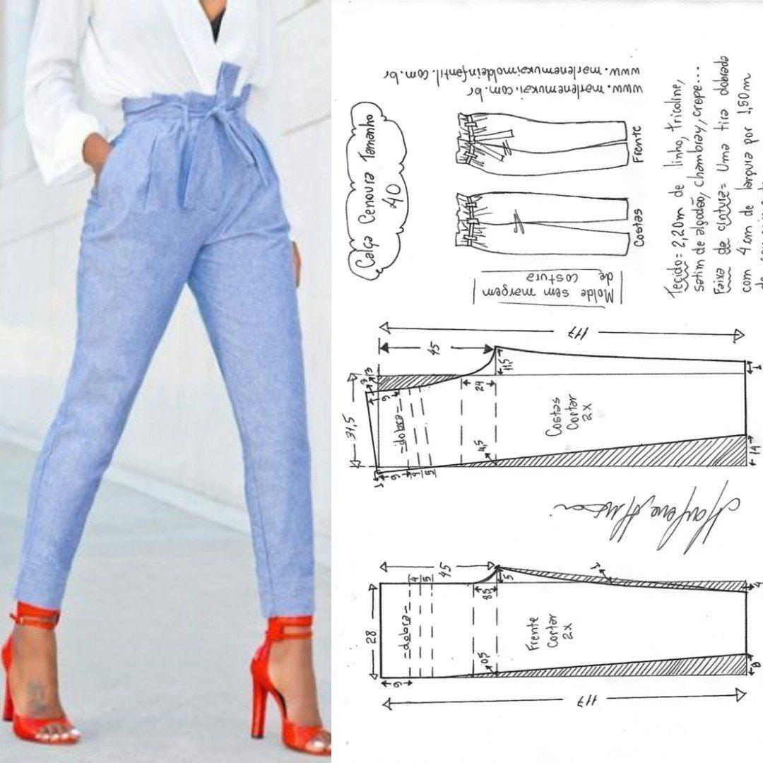 Выкройки, шитье, моделирование одежды | pantalon | Pinterest ...