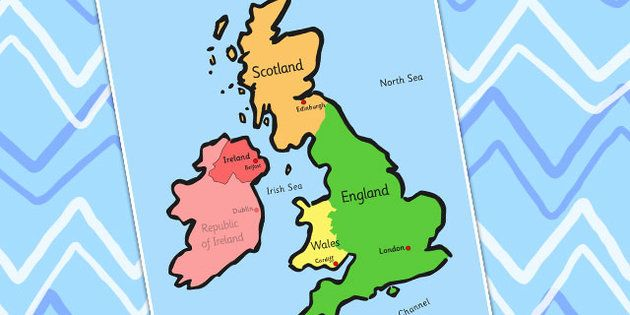 Uk map home education pinterest maps student centered uk map gumiabroncs Gallery