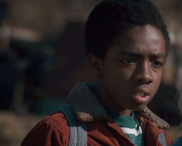 caleb mclaughlin aka lucas from stranger things aka the most suspicious boy in…