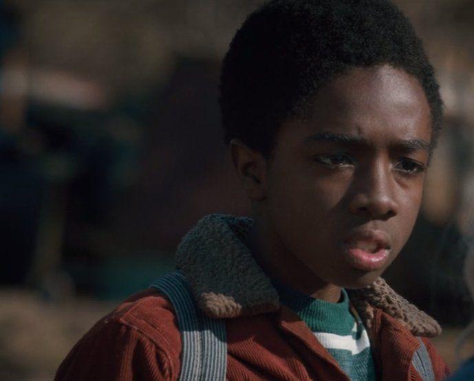 caleb mclaughlin aka lucas from stranger things aka the most suspicious boy in…