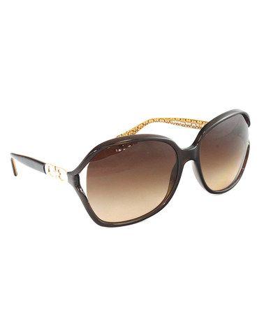 39851ecef097 Brown Natasha Sunglasses  zulilyfinds. Brown Natasha Sunglasses Coach  Sunglasses