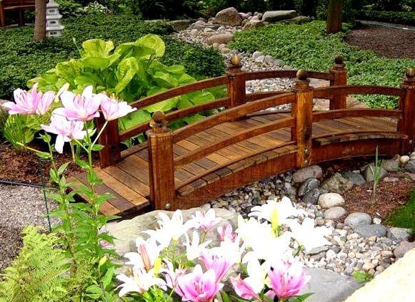 15 Charming Garden Bridges That Will Crush Your Heart Backyard