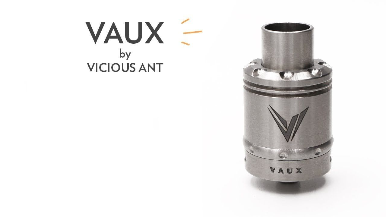 Vaux By Vicious Ant Attys Pinterest And Vape Goon Styled Rda 22mm Rebuildable Dripping Atomizer Black