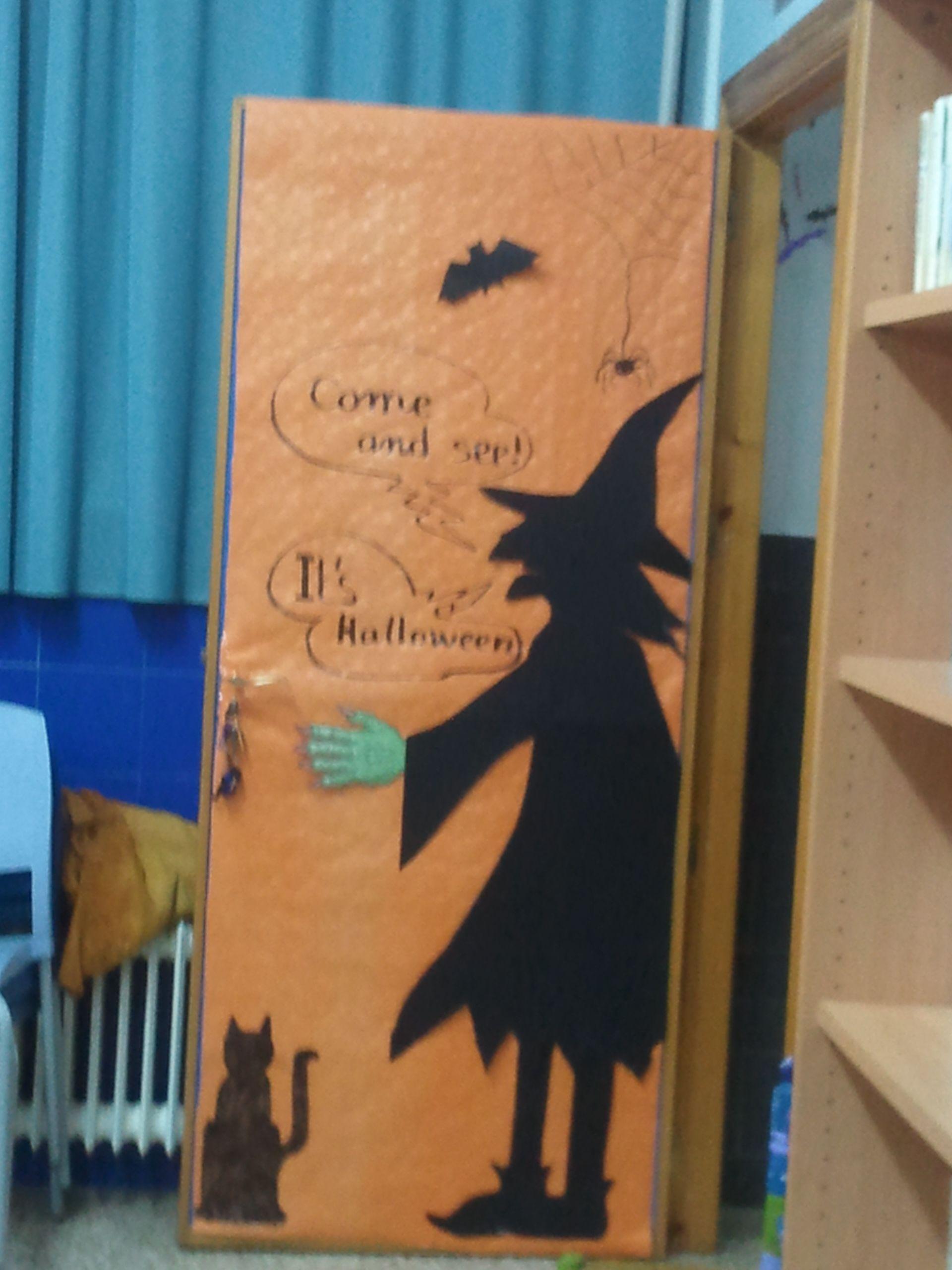 Halloween Door Mis Cosas Halloween Halloween Door Y