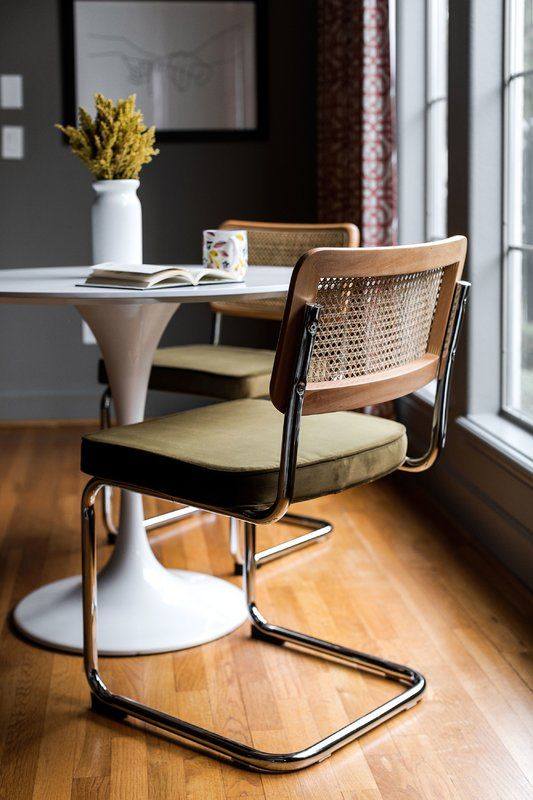 Elkmont Upholstered Dining Chair Midcentury Modern Dining Chairs