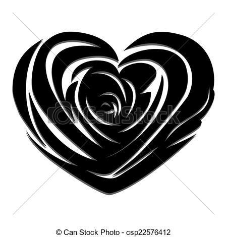 Vector vector rose heart stock illustration royalty free vector vector rose heart stock illustration royalty free illustrations stock clip art voltagebd Gallery