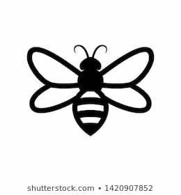 Minimalist Bee Icon At Duckduckgo Bee Icon Minimalist Icons Bee