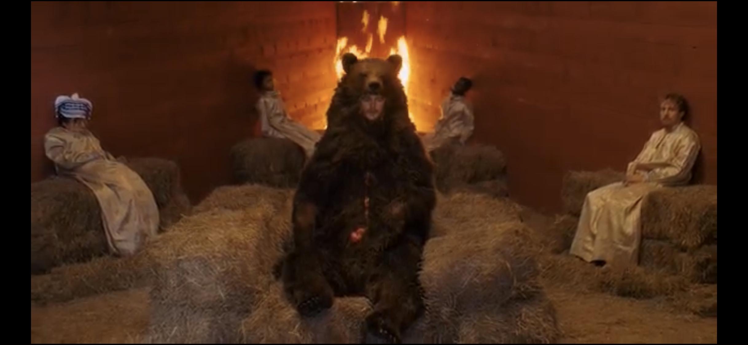 Midsommar Bear | Movie scenes, Scary movies, Movie art