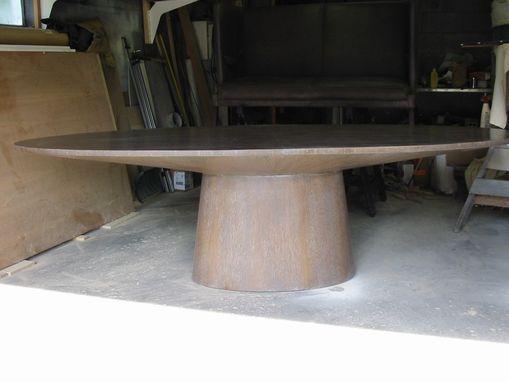 Custom Made Oval Table