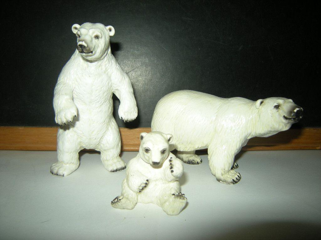 Schleich Polar Bears Super RARE Made in Germany Originals | eBay