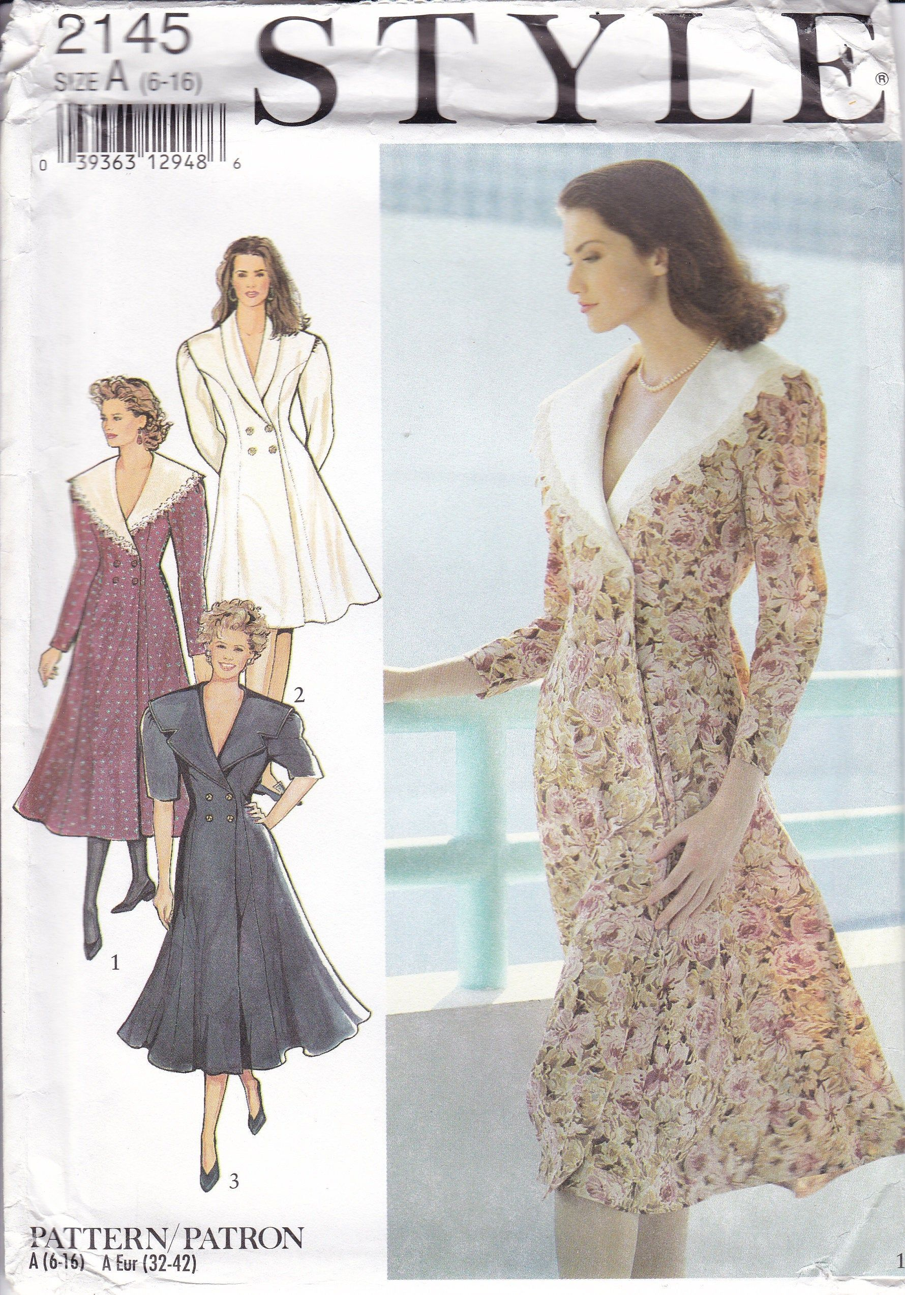 1990s Misses/' Cape in Three Lengths Asymmetrical Closure Very Easy to Sew Vogue 7145 UNCUT FF Sz XS,S,M Bust 30.5-34 Womens Sewing Pattern