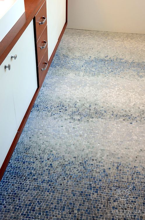 Mist A Natural Stone Hand Chopped Tumbled Mosaic Shown In Ming Green Kays Green Celeste Calacatta Blue Stone Mosaic Floor Mosaic Flooring Ravenna Mosaics